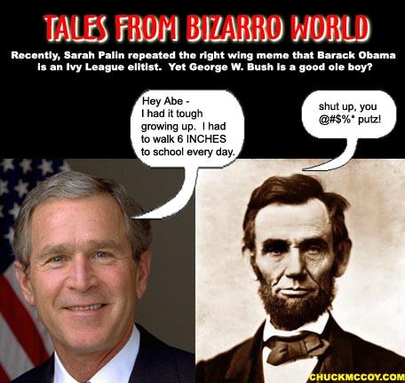 Bush meets Lincoln_intro copy
