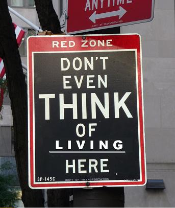 Don't think of living here